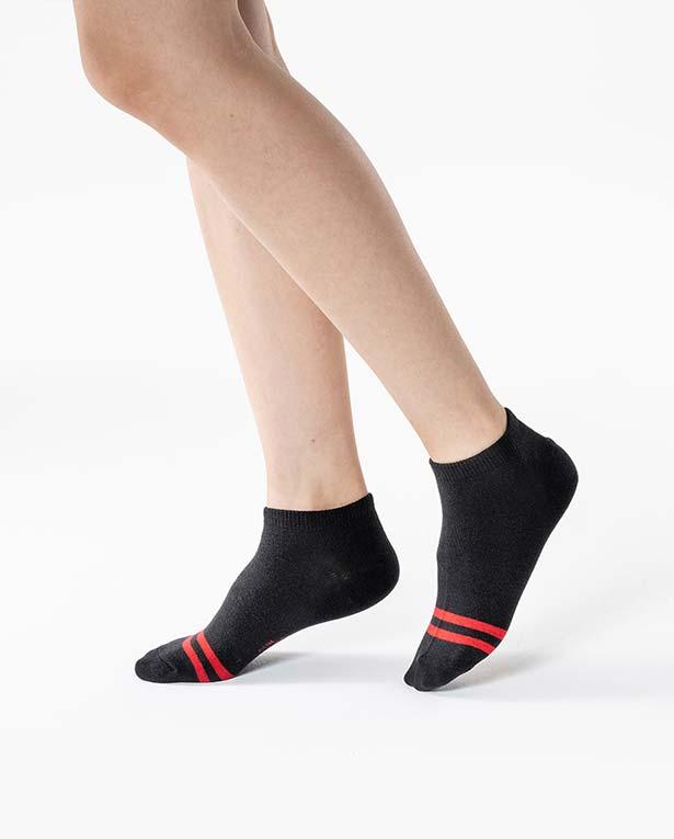 【三花】簡約雙線隱形襪.襪子 60-6