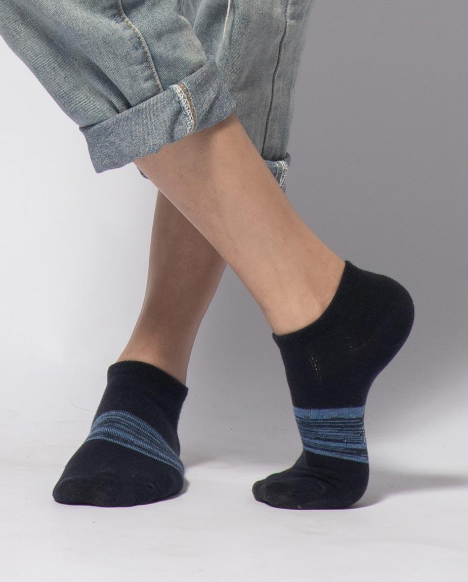 【12雙組】三花迷流隱形襪.男女適用.隱形襪.襪子 60-5